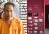 Bandar narkoba berinisial WH (39), yang diringkus Satresnarkoba Polres Tulang Bawang