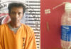Seorang pria berinisial MA (39), yang diduga kuat sebagai pengedar narkoba di Dusun Karawang Baru, Kampung Sungai Nibung