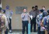 Kabag Sumda Polres Tulang Bawang Kompol Wahyu Andi Saputra, SH saat memberikan arahan kepada calon bintara polri tahun 2020 di Mapolres Tulang Bawang