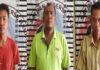 Tiga pengedar narkoba jenis sabu berinisial PP (31), EC (46) dan YS (22), yang diringkus Polisi saat menggerbek lapo tuak yang ada di Kampung Kagungan Rahayu